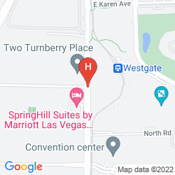 Map WESTGATE LAS VEGAS RESORT & CASINO