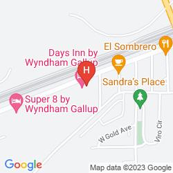 Map BEST WESTERN RED ROCK INN