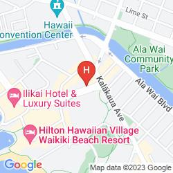 Map DOUBLETREE BY HILTON HOTEL ALANA - WAIKIKI BEACH