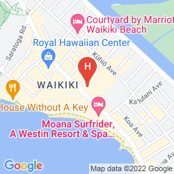 Map WAIKIKI BEACHCOMBER BY OUTRIGGER