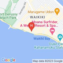 Map SHERATON WAIKIKI
