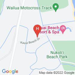 Map AQUA KAUAI BEACH RESORT