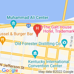 Map GALT HOUSE HOTEL & SUITES