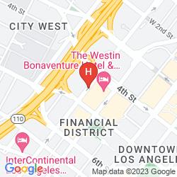 Map THE WESTIN BONAVENTURE HOTEL & SUITES, LOS ANGELES