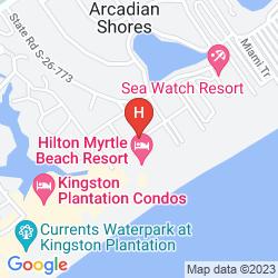 Map HILTON MYRTLE BEACH RESORT