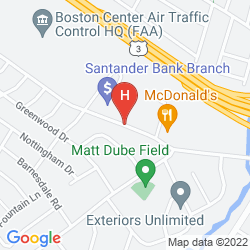 Map HOLIDAY INN NASHUA