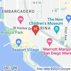 Map MANCHESTER GRAND HYATT SAN DIEGO