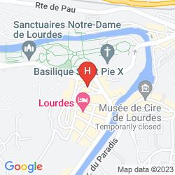 Map SAINT SAUVEUR