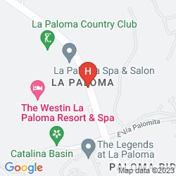 Map WESTIN LA PALOMA