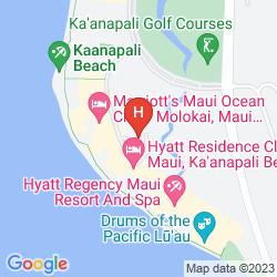 Map HYATT REGENCY MAUI RESORT & SPA