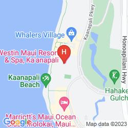 Map THE WESTIN MAUI RESORT & SPA, KA'ANAPALI
