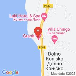 Map GRANIT HOTEL