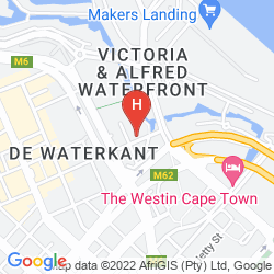 Map CITY LODGE V&A WATERFRONT