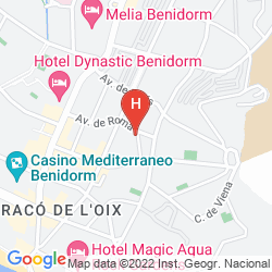 Map APARTAMENTOS DON GREGORIO