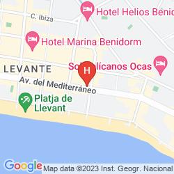 Map DON PANCHO