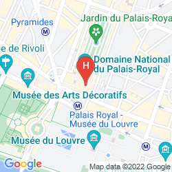 Map GRAND HÔTEL DU PALAIS ROYAL