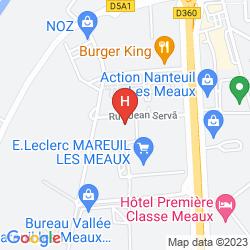 Map BALLADINS MAREUIL LES MEAUX