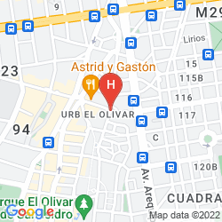 Map PLAZA DEL BOSQUE