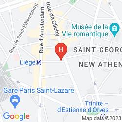 Map NEWHOTEL OPERA