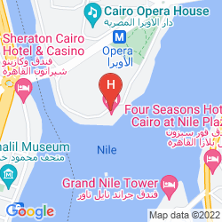 Map SOFITEL EL GEZIRAH CAIRO