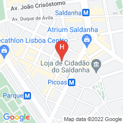 Map SHERATON LISBOA HOTEL & SPA