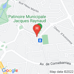 Map HOLIDAY INN EXPRESS TOULOUSE AIRPORT