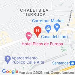 Map PICOS DE EUROPA