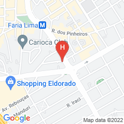 Map HOWARD JOHNSON FARIA LIMA