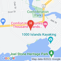 Map ABSOLUTE 1000 ISLANDS SUITES