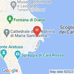 Map RESIDENCE ALLA GIUDECCA