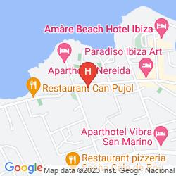 Map HOTEL SAN REMO