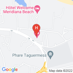Map SIDI MANSOUR RESORT AND SPA DJERBA