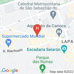 Map ARCOS RIO PALACE