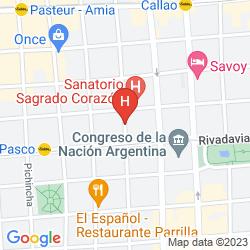 Map ZEN SUITES