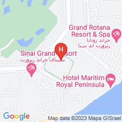 Map MARITIM JOLIE VILLE RESORT & CASINO