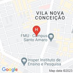 Map MERCURE SAO PAULO VILA OLIMPIA