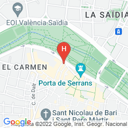 Map HOLAHOTEL DEL CARMEN