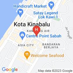 Map LE MERIDIEN KOTA KINABALU
