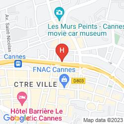 Map VILLA GARBO