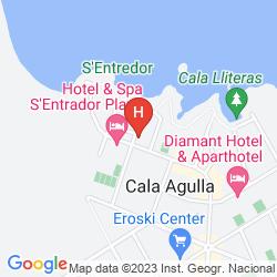 Map MAR AZUL PUR ESTIL HOTEL & SPA