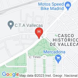 Map APARTMENTS BE SMART MADRID ALBUFERA