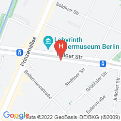 Map WYNDHAM GARDEN BERLIN MITTE