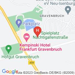Map KEMPINSKI HOTEL FRANKFURT GRAVENBRUCH