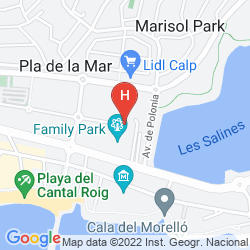 Map VILLA MARISOL