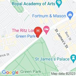 Map SHERATON GRAND LONDON PARK LANE