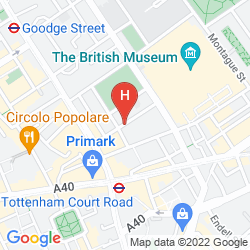 Map ST GILES LONDON - ST GILES CLASSIC