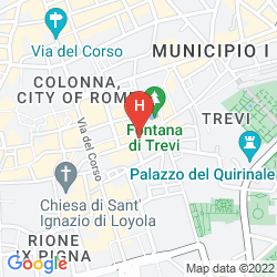 Map BOUTIQUE HOTEL TREVI