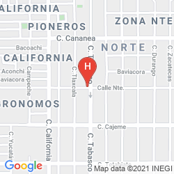 Map HOTEL EL EJECUTIVO