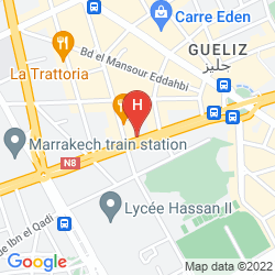 Map KENZI ROSE GARDEN