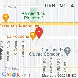 Map RESIDENCIAL GALERIAS